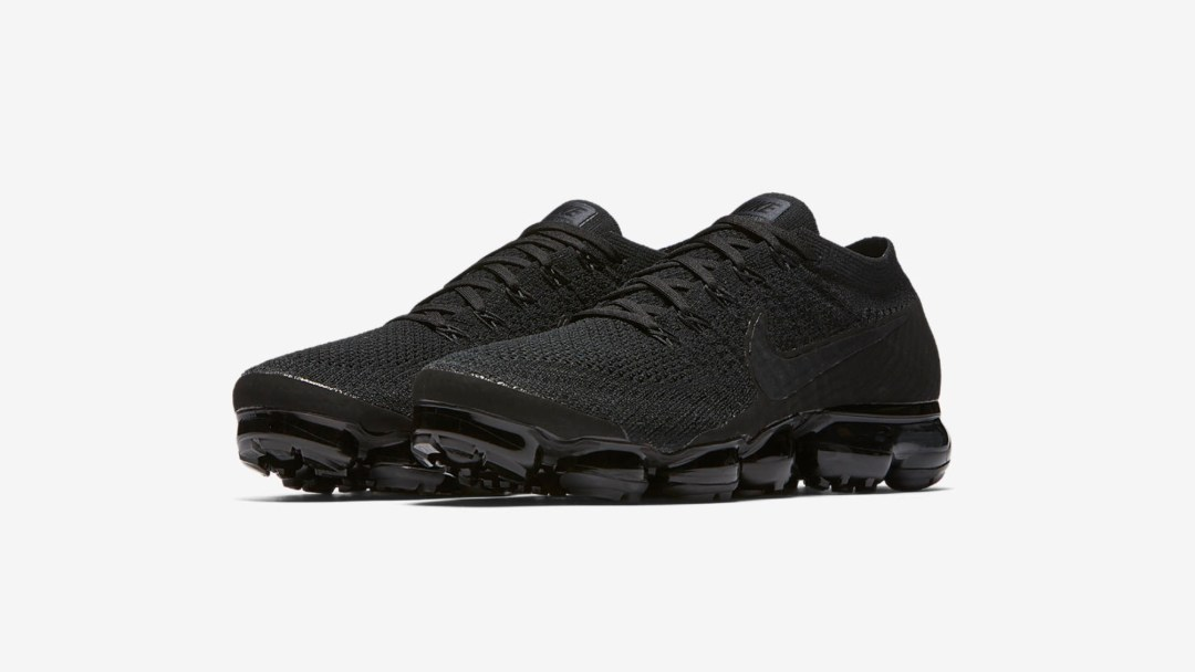 a07336d6a18 Triple Black Air VaporMaxes for Friday the 13th - WearTesters