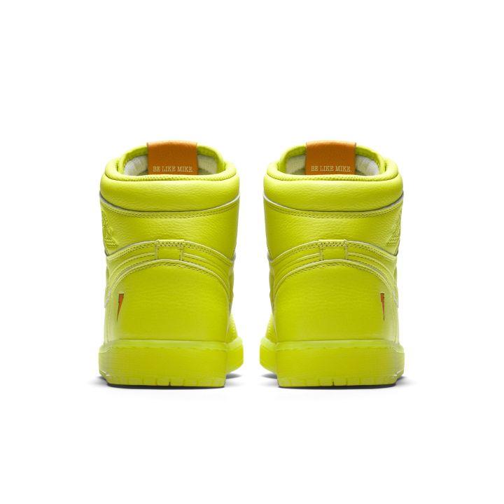 857c5861340b6 The Gatorade x Air Jordan 1 Retro High Goes Lemon-Lime - WearTesters