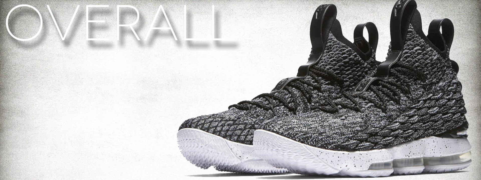 9fc51c52d9a Nike Lebron XV 15 EP Ashes Oreo Black White James Men s Basketball Shoes