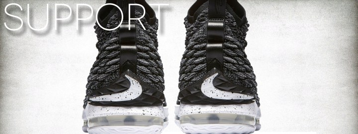 nike lebron 15 performance review support