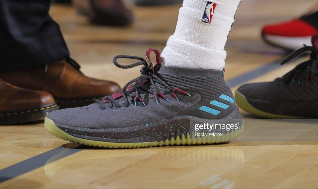 c144c7cc033c13 The adidas Dame 4  Glow  Releases Next Week at Eastbay - WearTesters