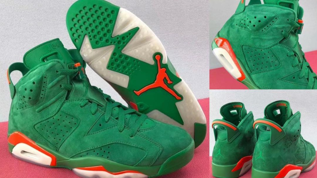 a07775a4e64f The Premium Gatorade Air Jordan 6  Like Mike  May Be Your Last ...