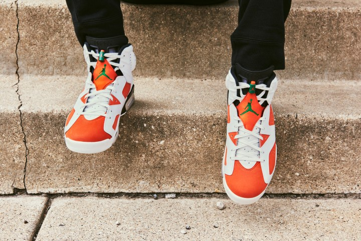 jordan brand gatorade air jordan 6 like mike 9
