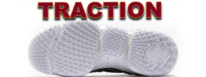 9344493606e4e The LeBron 15 features a spiked triangle pattern that made the traction  dope. The way the spiked outsole grips the hardwood reminded me of a cleat!