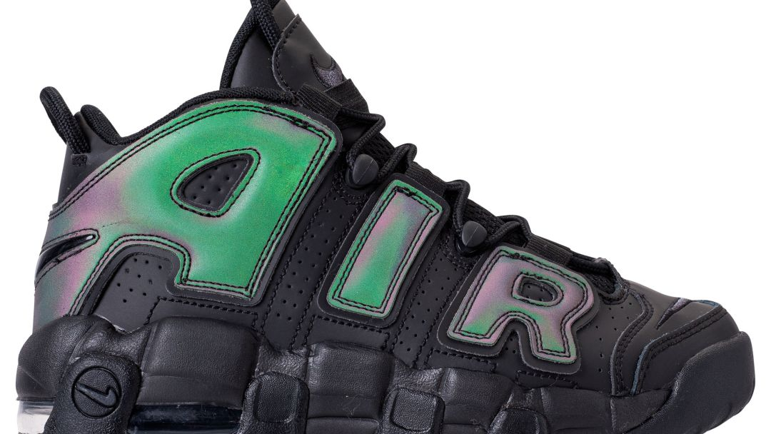 The Reflective and Iridescent Air More Uptempo is Launching in a ... 96524fab1