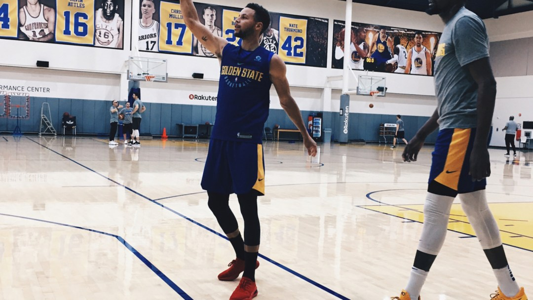 086f12b05f58 Bright Red Curry 4 Lows Spotted on Curry During Practice - WearTesters