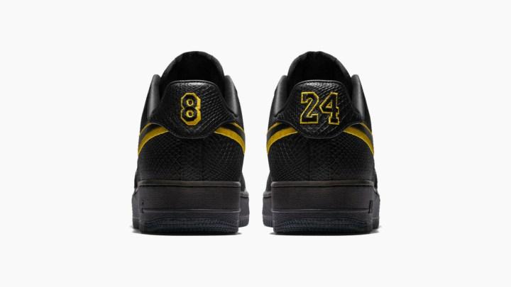Kobe bryant black mamba air force 1 1