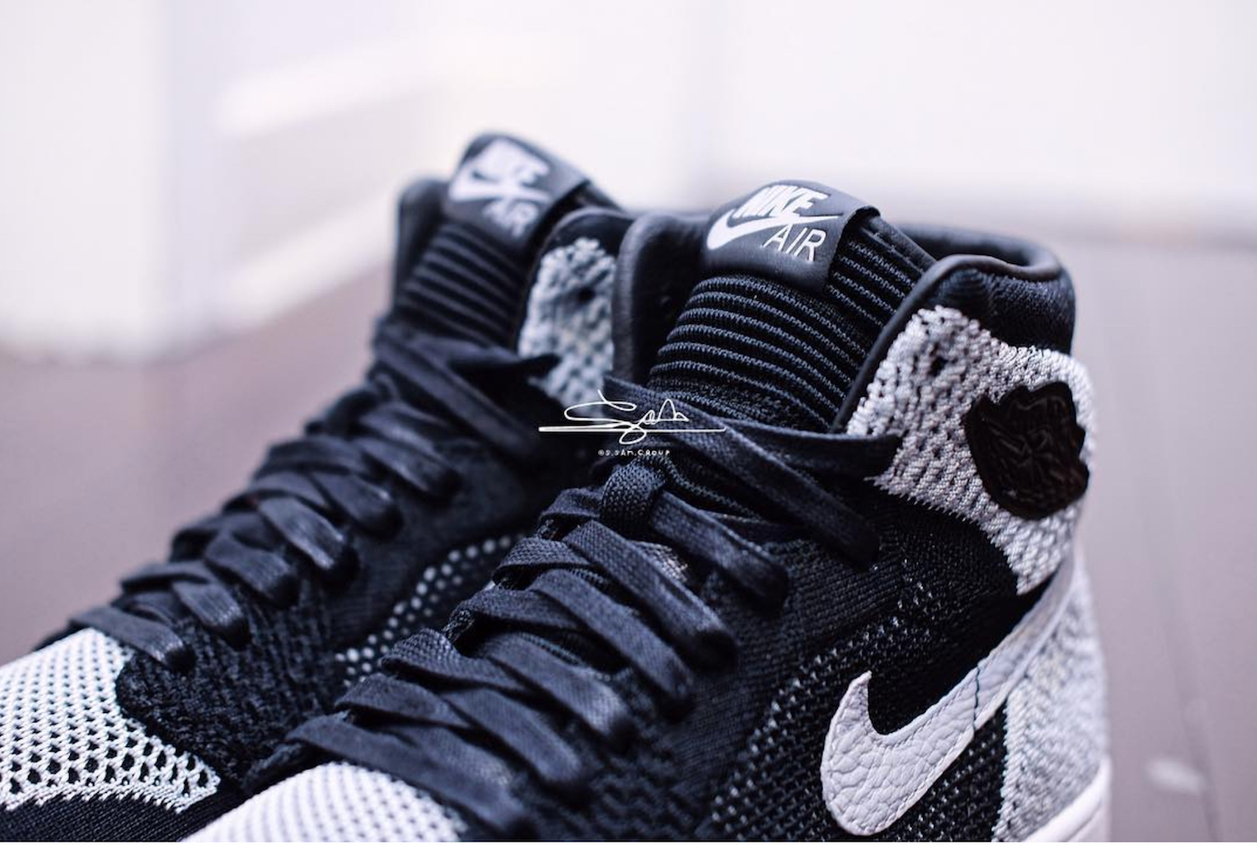 The Air Jordan 1 Flyknit  Shadow  is Expected to Drop in 2018 ... ba511ea95
