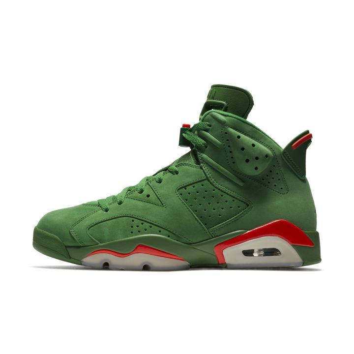 e83a3fa8b57f Nike Officially Unveils the Premium  Gatorade  Air Jordan 6 ...
