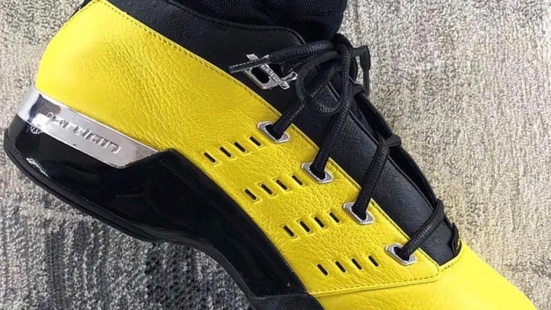 6e23c44bc6460f The Solefly x Air Jordan 17 Low Has a Release Date - WearTesters