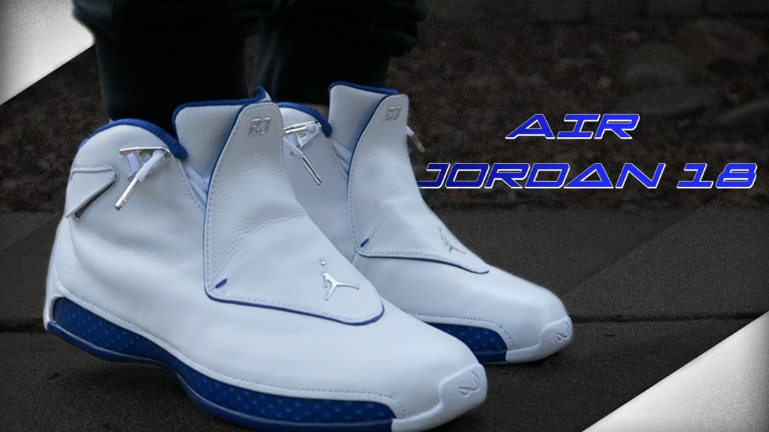b83afa1a138d Our Thoughts on the 2018 Air Jordan 18 Retro  Sport Royal  - WearTesters