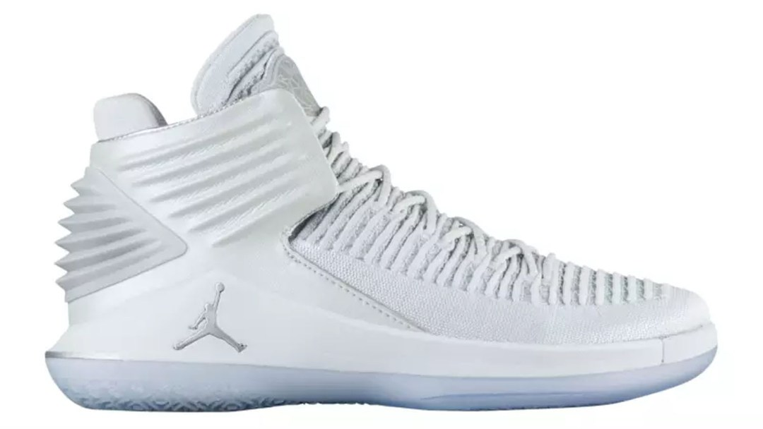pretty nice 34b43 3b833 The Air Jordan 32 to Release in White Pure Platinum - WearTesters