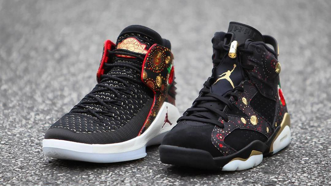 3260e622f48a98 The Air Jordan 6 and Air Jordan 32  Chinese New Year  Drop Next Week ...