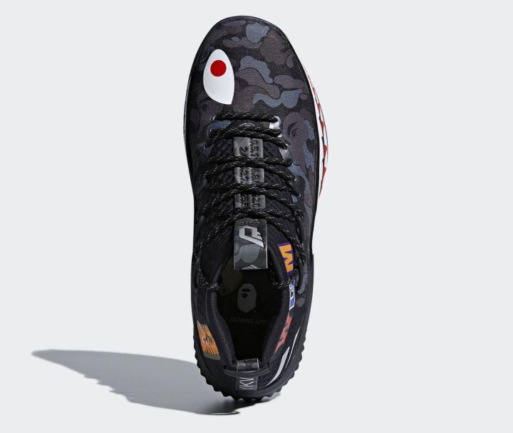 online store ef9a3 c1ed0 adidas dame 4 BAPE official 17