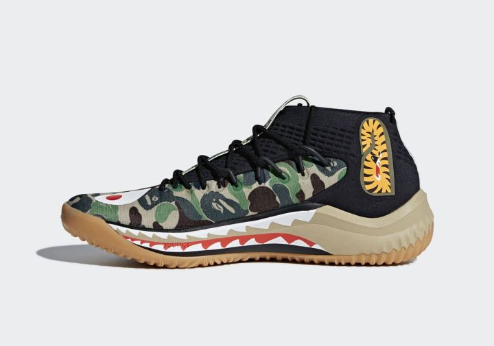 7249fe904958a The adidas Dame 4 BAPE Releases Have an Official Release Date ...