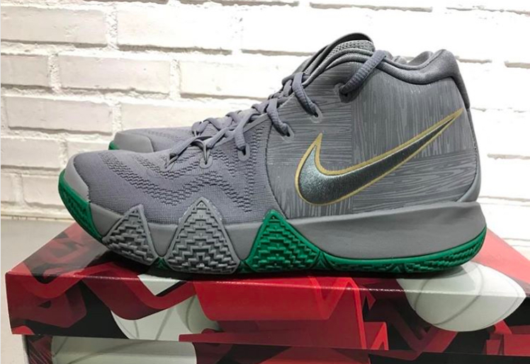 45cd2674d89 Kyrie 4 Green Grey 6 - WearTesters