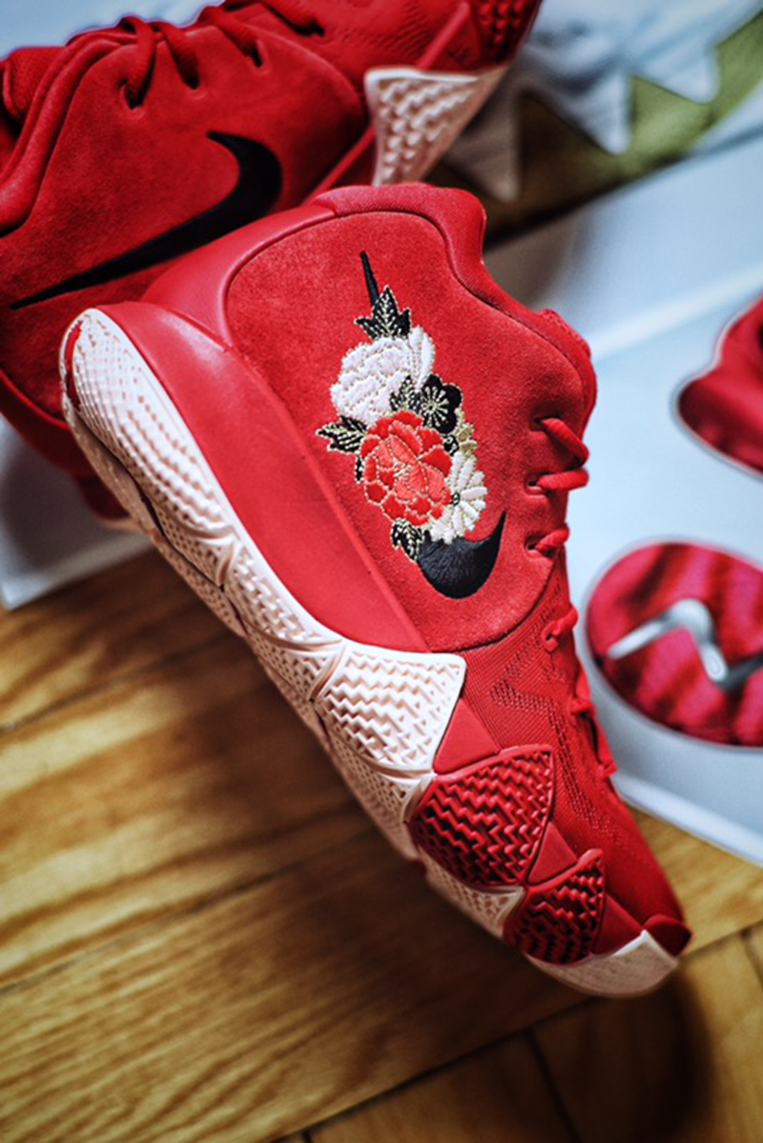 This Nike Kyrie 4 'chinese New Year' Is Inspired By Fireworks  Weartesters