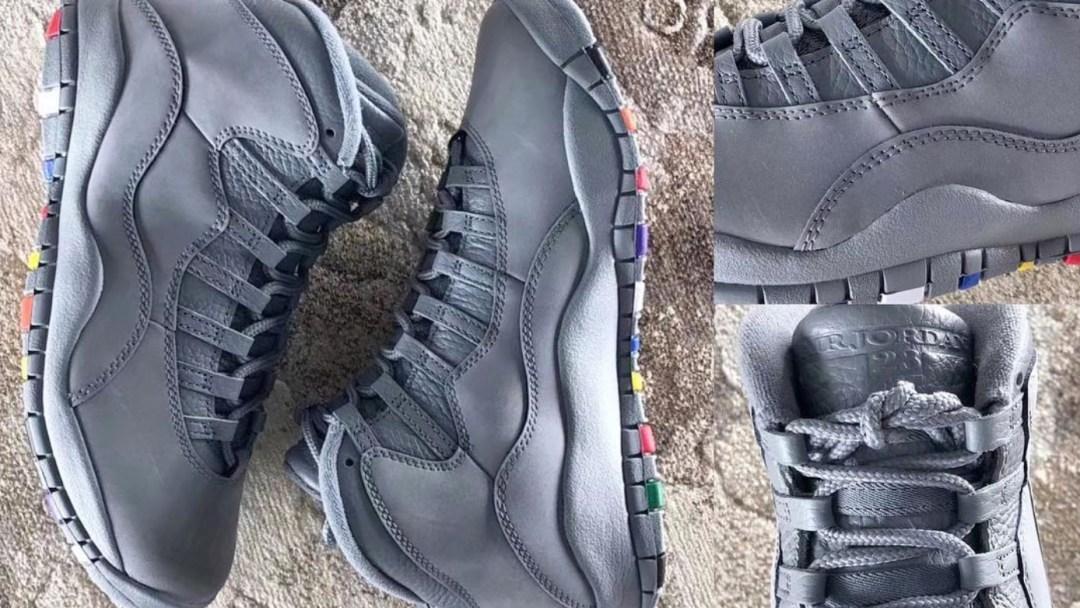pretty nice 013da cf2b6 air jordan 10 retro cool grey multicolor 11