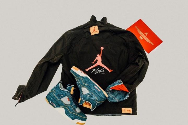 9f60a9fca8d Jordan Brand Unveils the Levi's Air Jordan 4 - WearTesters