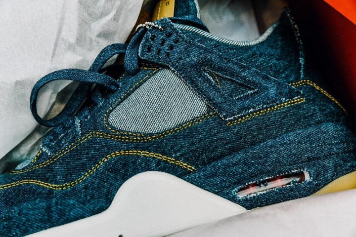 ac4a05f4d10 Ok, be honest, are you rocking denim like this? Will you try for the shoes,  jacket, or both? Let us know below. Both the Air Jordan IV and ...