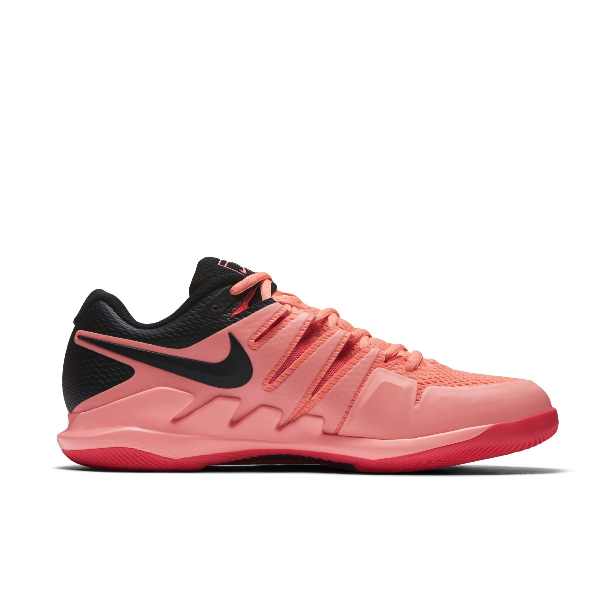 c919a731ce70 roger federer nike air zoom vapor x solar red 3 - WearTesters