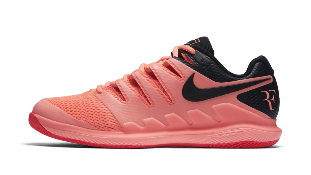 41f5a1d6b758 Roger Federer s Nike Air Zoom Vapor X Gets Bold  Solar Red  Colorway ...