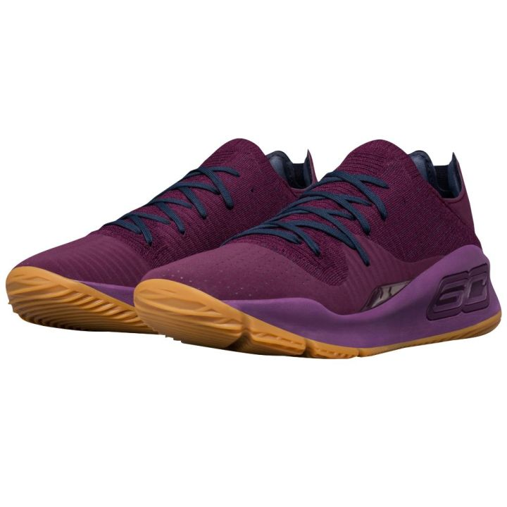 under armour curry 4 low merlot 1