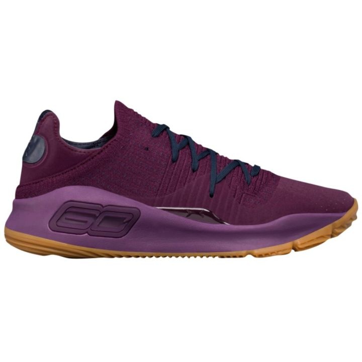 under armour curry 4 low merlot 2