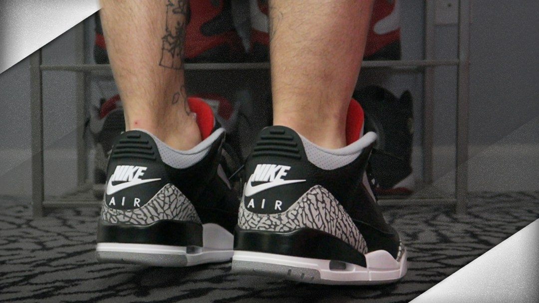 83408321ee35 A Detailed Look at the Upcoming Nike Air Jordan 3 Black Cement Retro ...