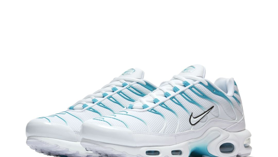 the latest 02019 fcdef AIR MAX PLUS WHITE LIGHT BLUE FURY 1