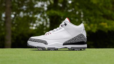"c076e0d89dee76 The Air Jordan 3 Has Become a ""Premium"" Golf Spike  Take an Intimate Look  at the Air Jordan 17+ Retro Copper- ..."