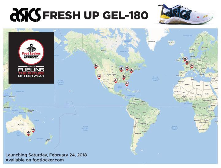 PENSOLE x Asics Fresh Up GEL-180 2