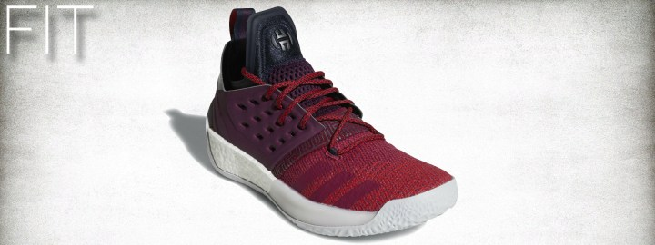 adidas Harden Vol 2 Performance Review fit