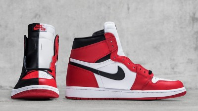 688c9aa31804e The Air Jordan 1 Retro High OG NRG  Homage to Home  Combines the  Chicago   and  Banned  Colorways