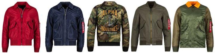alpha industries SS18 drop CWU 36p