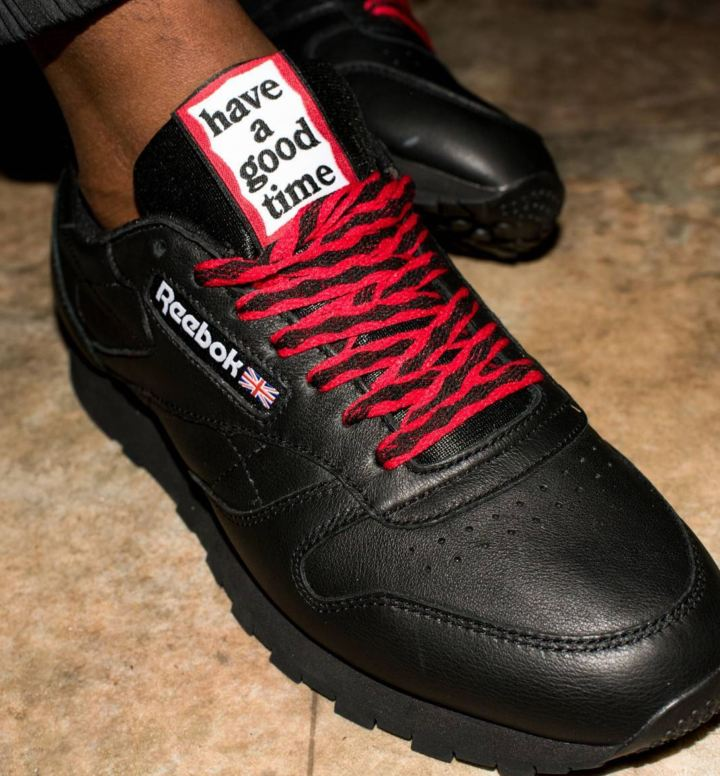 6464f928a13 Japan s Have A Good Time Links with Reebok for Classic Leather and ...