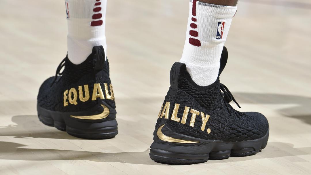 Nike Lebron 15 Equality Drawing