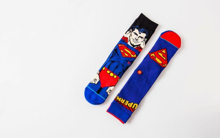 shoe palace reebok shaq attaq superman stance socks