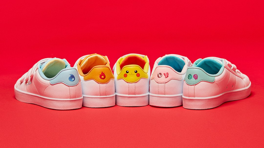 a54bcc1b7b6f FILA x Pokemon Marks the Latest Sneaker and Pop Culture ...