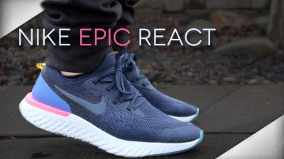 nike epic react flyknit detailed look and review