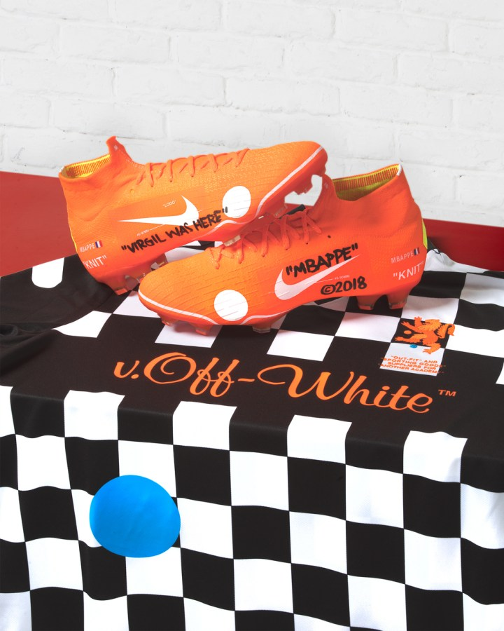 c0bb0bbae17568 Virgil Abloh Teams Up With Nike For Special Mbappé Football Boots ...