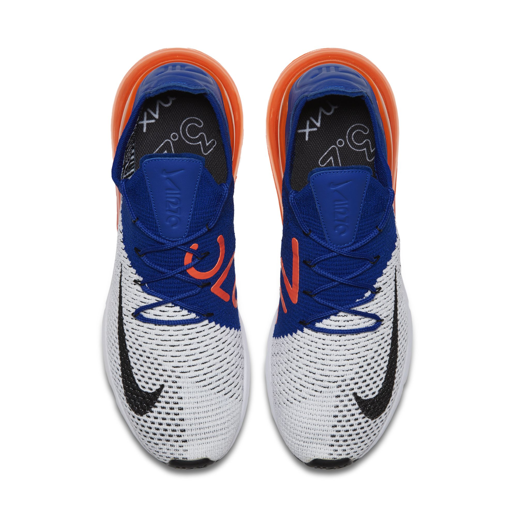 d06d08adc340 nike air max 270 flyknit racer blue total crimson mens - WearTesters