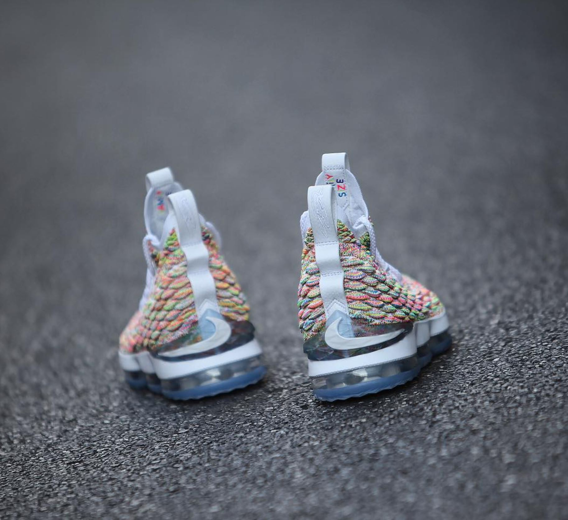3f8ee327b96 nike lebron 15 fruity pebbles 13 - WearTesters