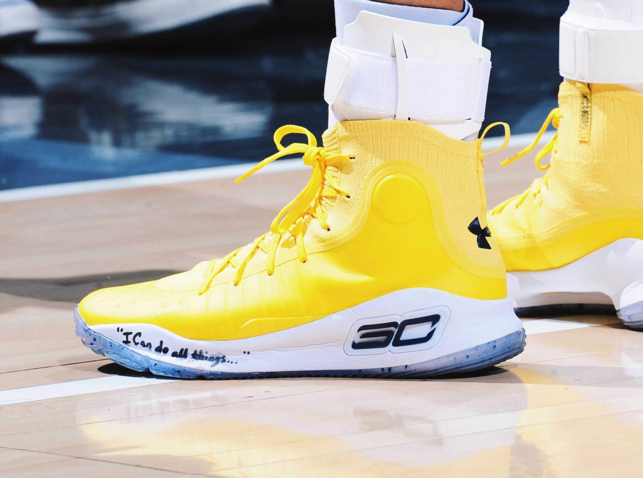 da456ec6873d under armour curry 4 yellow · Kicks On Court   Under Armour ...