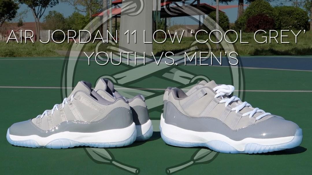 54a9143badff9e Air Jordan 11 Low  Cool Grey  Review