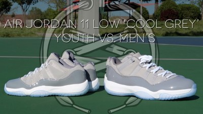Air Jordan 11 Low Cool Grey Review