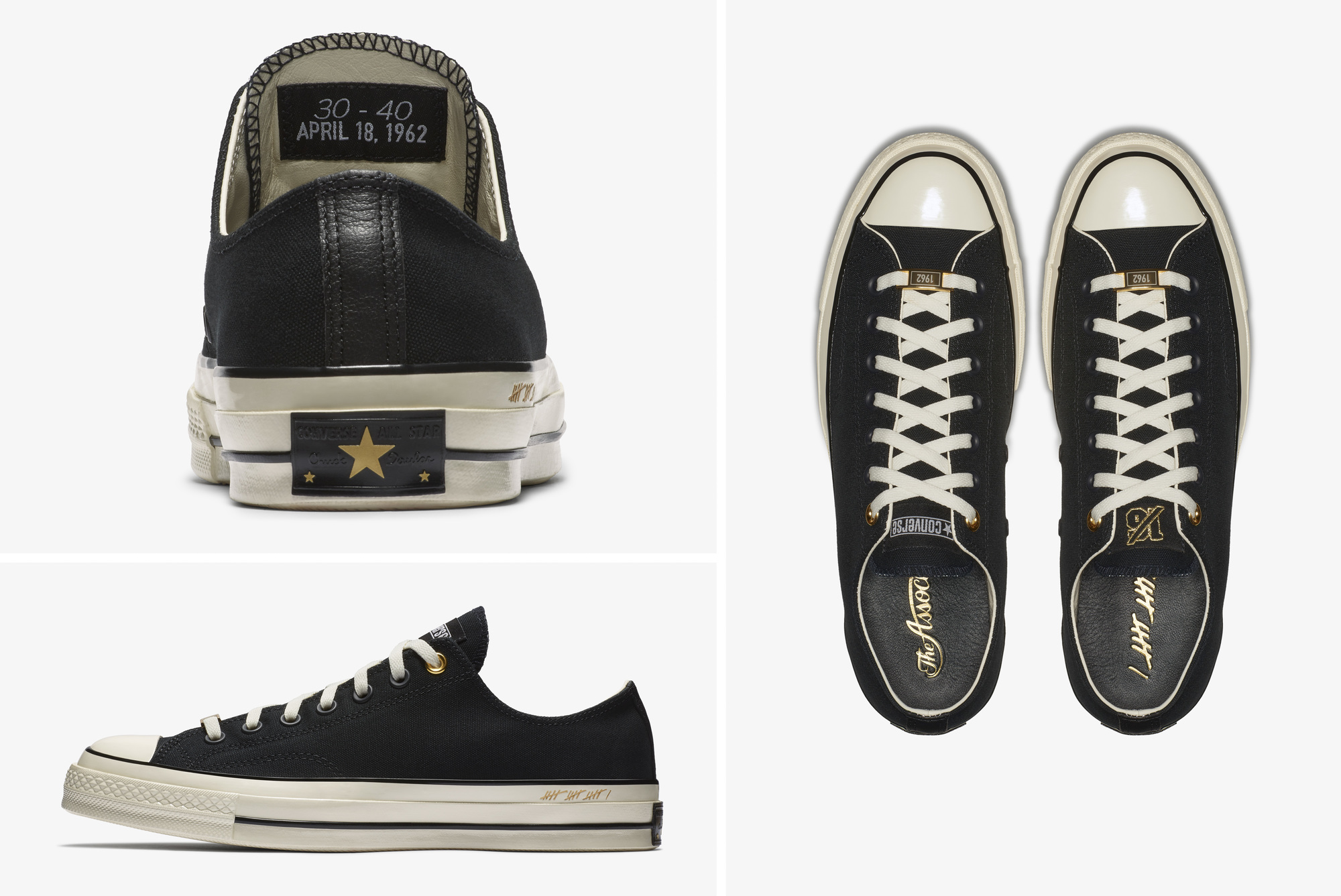 21bd4b88c19 Converse Chuck 70 Ox 30 and 40 bill russell - WearTesters