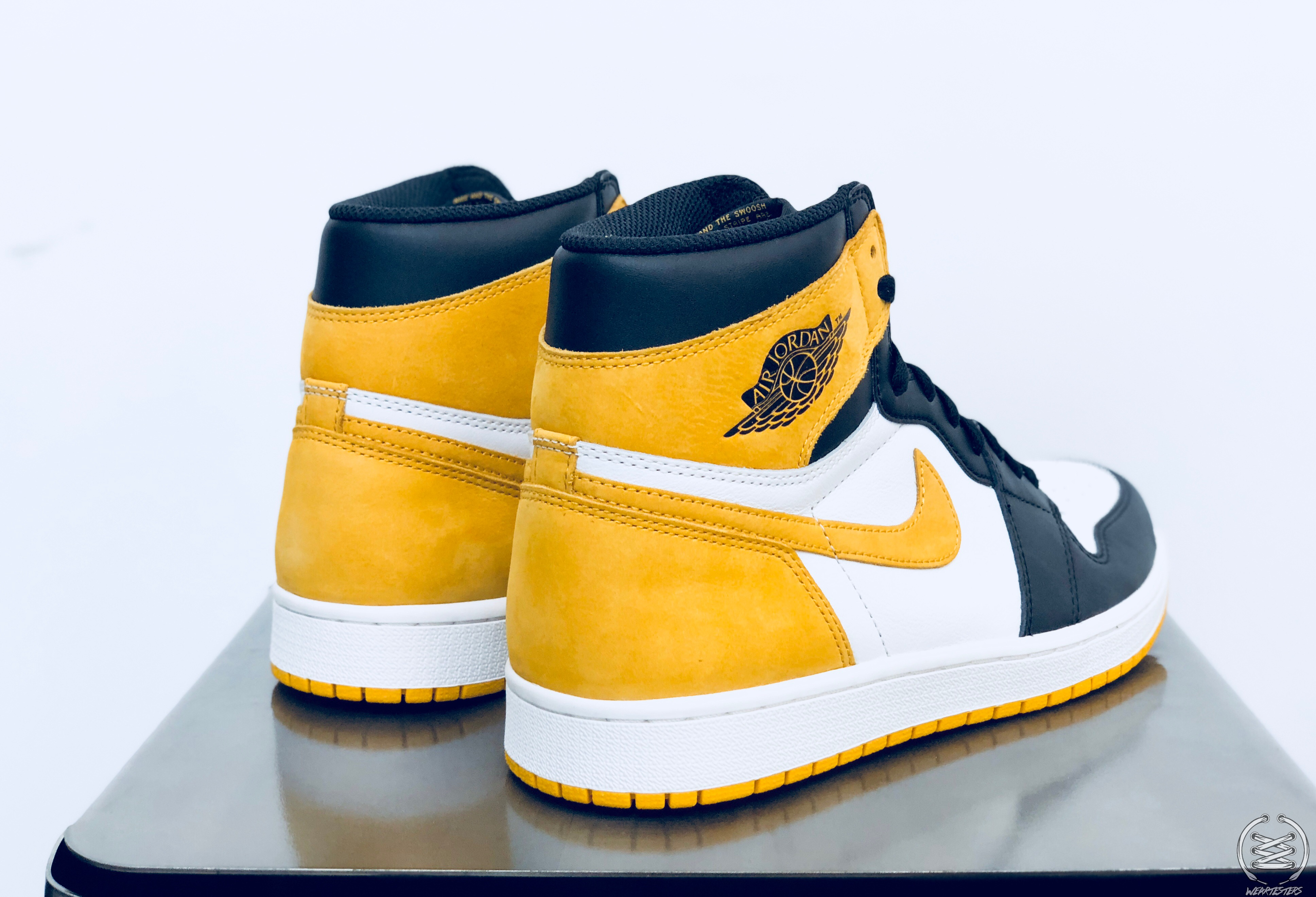 super popular 7f4b0 44627 Air Jordan 1 Yellow Ochre Best Hand in the Game collection 3
