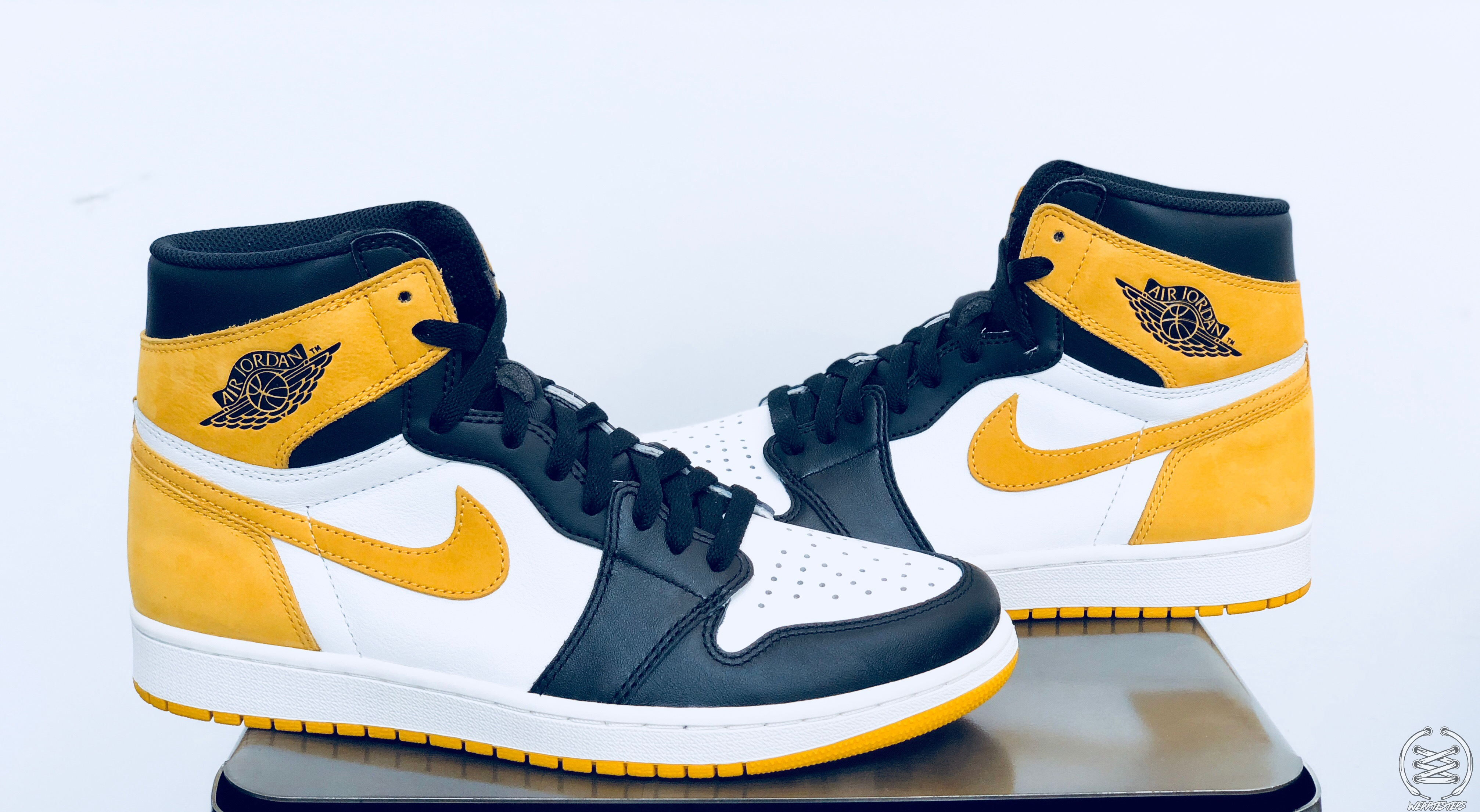 3ea1a381fb3c Air Jordan 1 Yellow Ochre Best Hand in the Game collection 2 ...