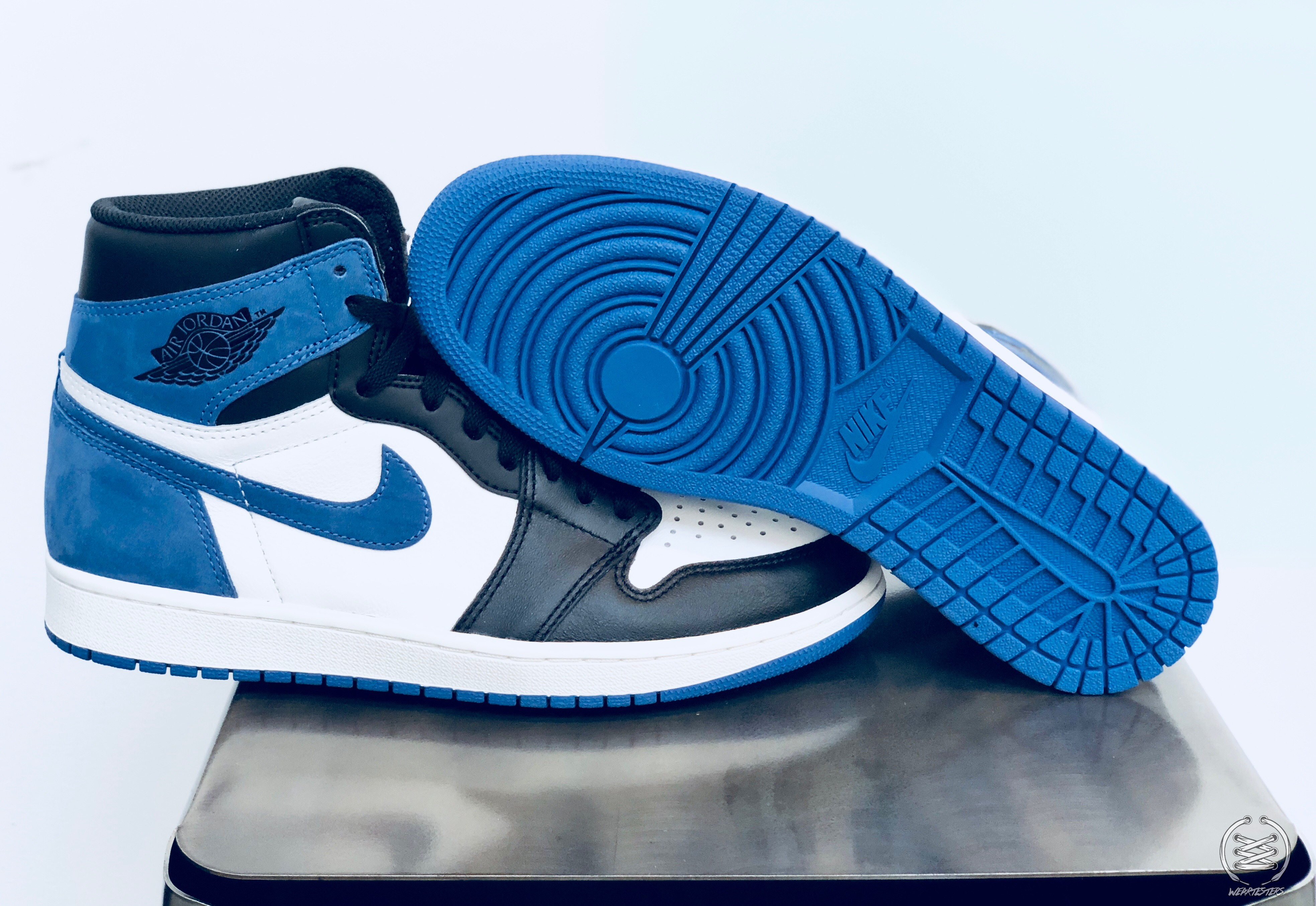 0b65135fbf3 Air Jordan 1 Blue Moon Best Hand in the Game collection 2 - WearTesters